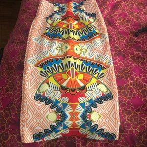 Xoxo pencil skirt
